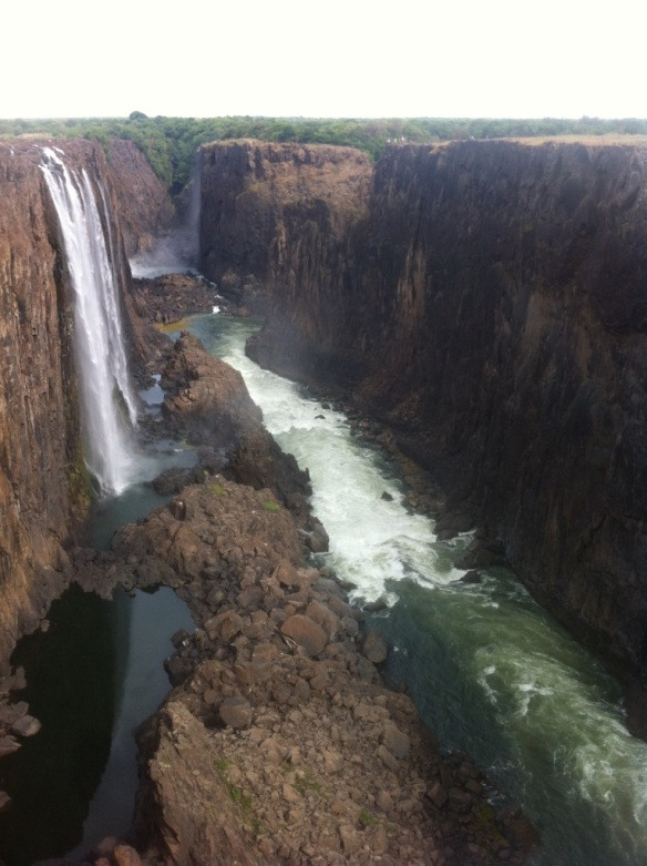 Victoria Falls, and a Soldier Down